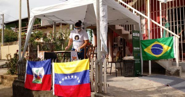 Emancipa Santa Rosa de Lima realiza ação de solidariedade e acolhida a migrantes