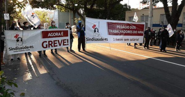 Luciana Genro solicitará audiência pública para tratar da greve dos trabalhadores do Hospital Porto Alegre