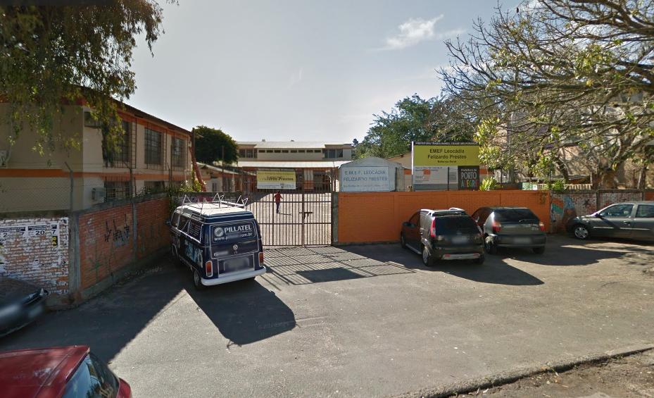 Escola divulgou nota desmentindo informação divulgada por deputado. Foto: Reprodução/Google Maps