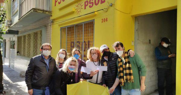 Ex-vereador Vitor Hugo Gomes e trabalhador metalúrgico Jonatan Fogaça filiam-se ao PSOL em Caxias do Sul