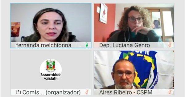 Audiência pública promovida por Luciana Genro trata dos impactos da Reforma Administrativa no país