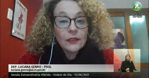 Aprovado PL de Luciana Genro que garante maior proteção para servidores da segurança pública vítimas de violência