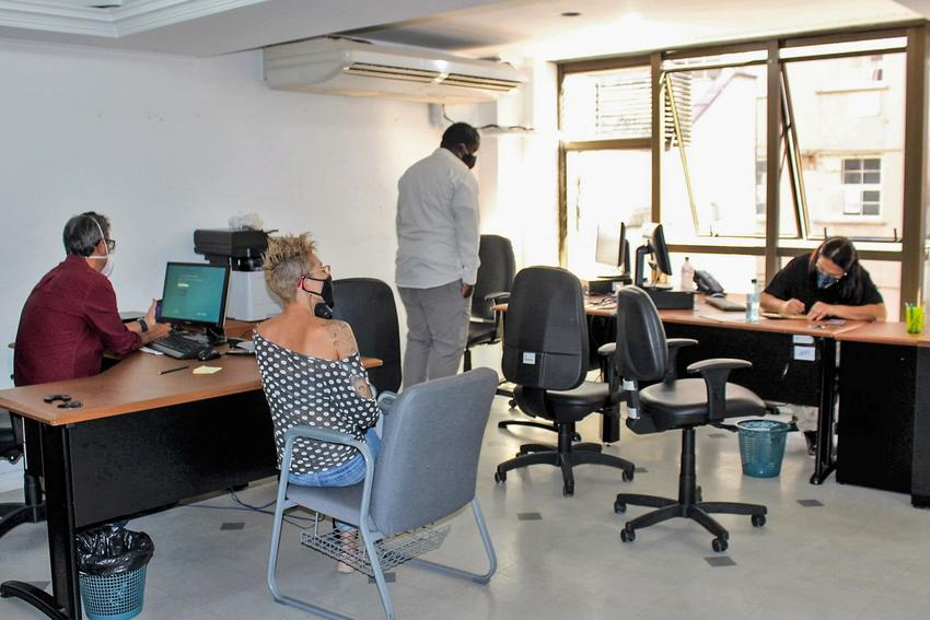 Equipe do CRIM está trabalhando desde o início de abril. Foto: Maria Emília Portella/SMDS PMPA