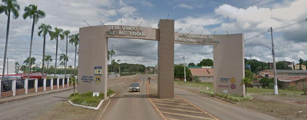 Caso ocorreu na cidade de Não-Me-Toque | Foto: Google Street View