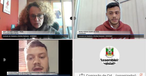 Luciana Genro solicita acompanhamento da Comissão de Direitos Humanos a caso de racismo em Não-Me-Toque