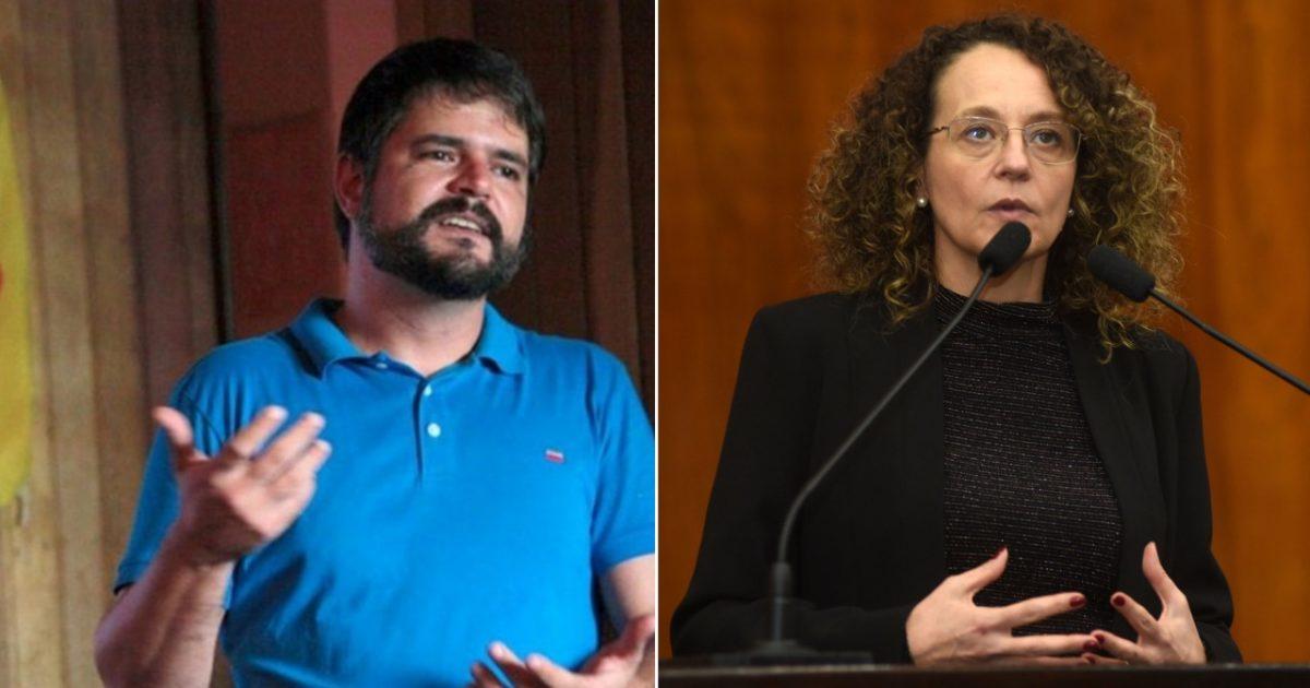 Vereador Jurandir Silva e deputada Luciana Genro cobram IPE Saúde sobre fechamento de unidades no interior.