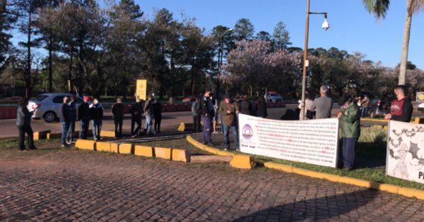 PSOL participa de ato em apoio a trabalhadores da Gerdau em Charqueadas