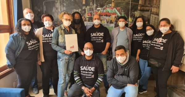 Segurança para os trabalhadores do Hospital Santa Ana