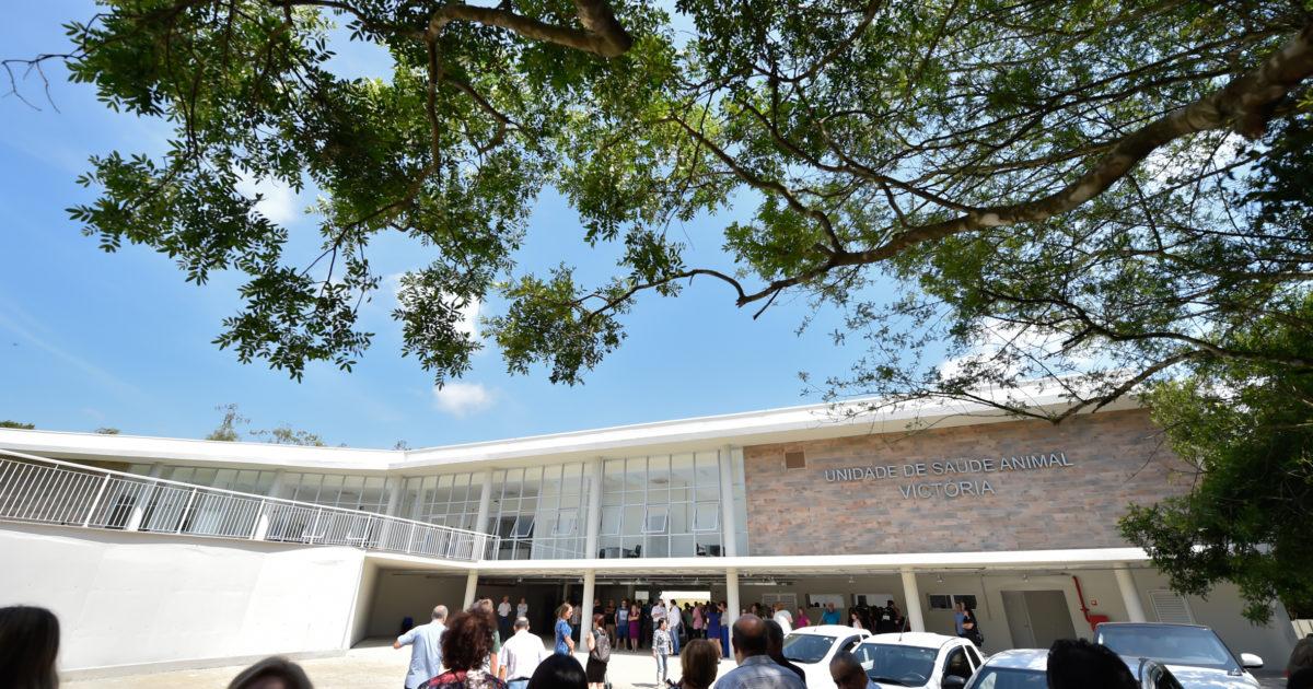 Hospital veterinário fica localizado no bairro Lomba do Pinheiro, na divisa com Viamão. Foto: Elson Sempé Pedroso/CMPA